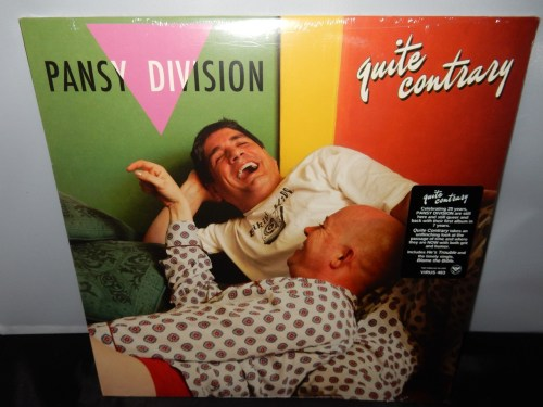"Pansy Division ""Quite Contrary"" Vinyl LP 2016 New"