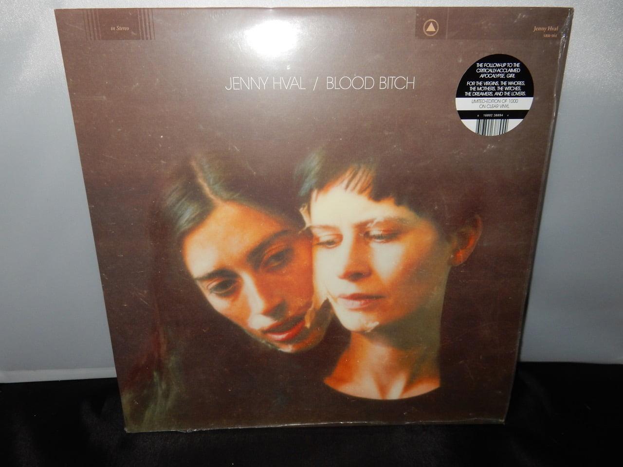 "Jenny Hval ""Blood Bitch"" Ltd Ed Clear Vinyl LP 2016"