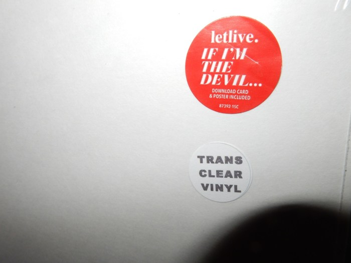Letlive Clear Vinyl