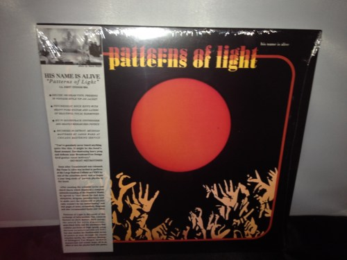 "His Name Is Alive ""Patterns Of Light"" Deluxe 180gm Vinyl LP 2016"