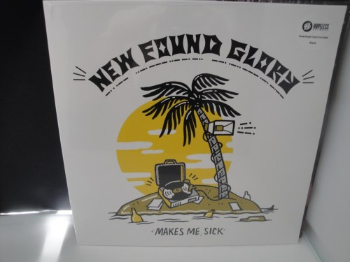 New Found Glory - Makes Me Sick - 2017 Vinyl LP, Hopeless Records