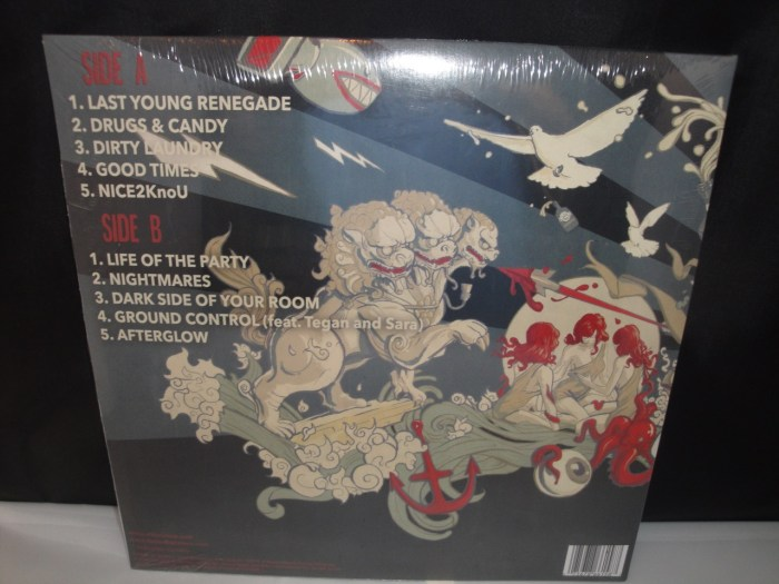All Time Low - Last Young Renegade - Vinyl LP 2017, Fueled By Ramen