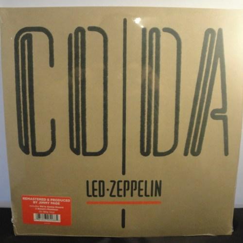 Led Zeppelin - Coda - 180 Gram Vinyl, Remastered 2015, New, Sealed