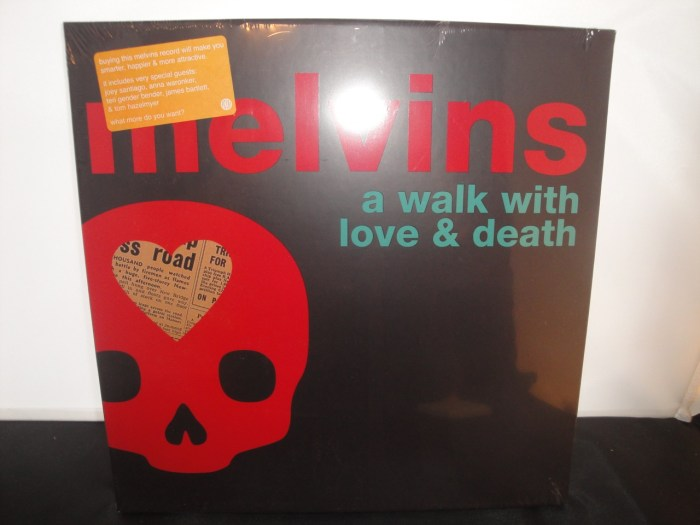 Melvins - A Walk With Love And Death - Pink, Violet, 2XLP Box, 2017