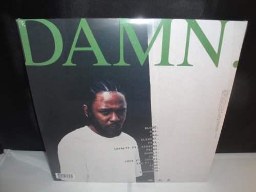 Kendrick Lamar - DAMN [Explicit Content], 2XLP Vinyl, New, 2017