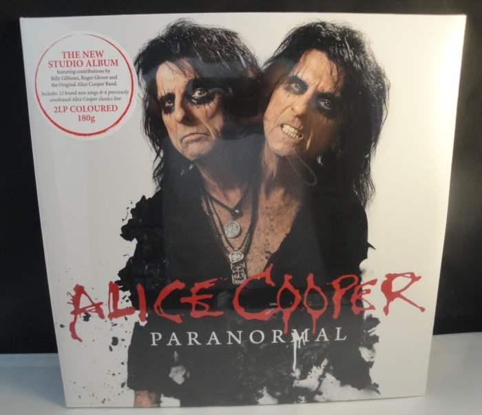 Alice Cooper - Paranormal - Limited Edition, Red Vinyl, 2XLP, 180 Gram, 2017