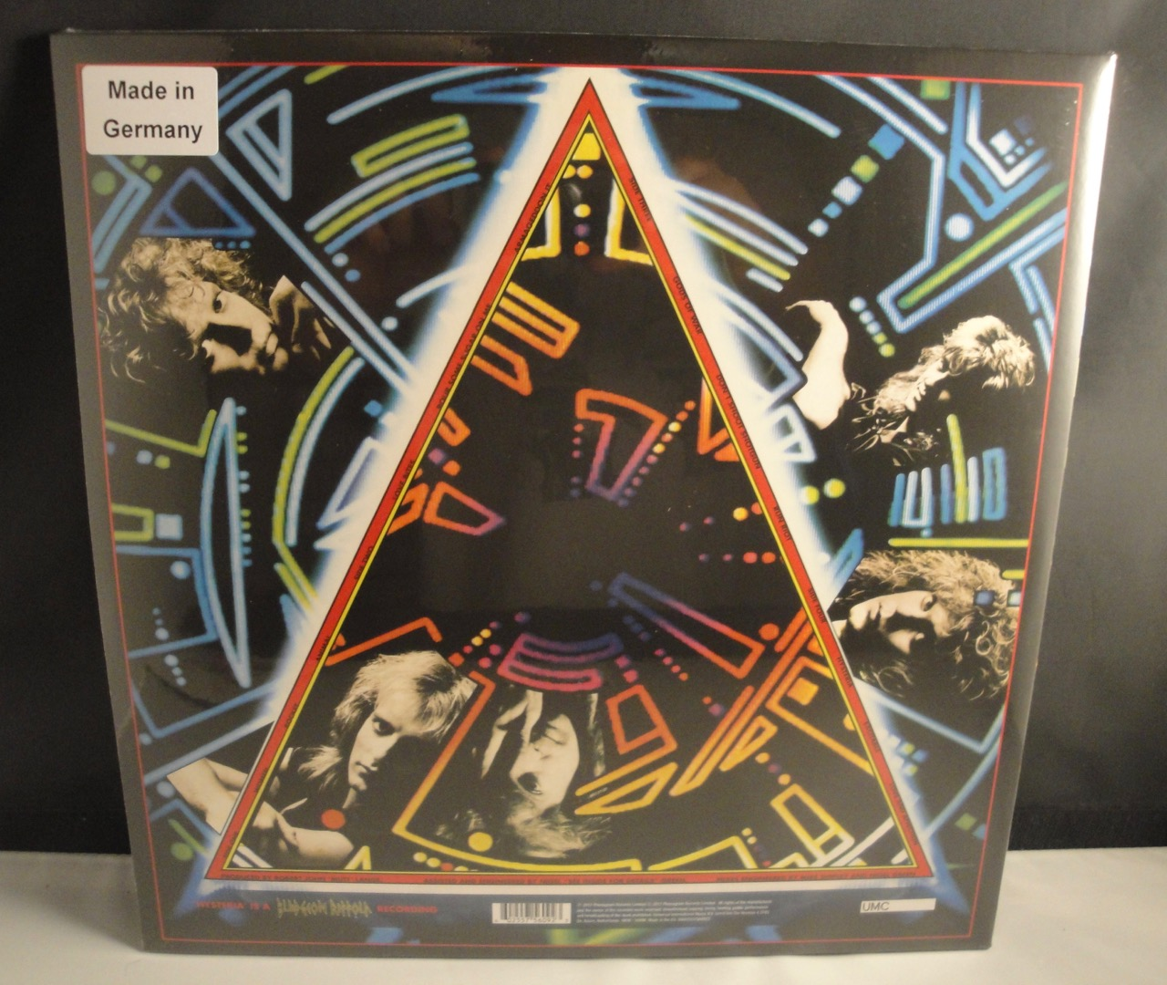 Def Leppard - Hysteria - 2XLP, 180 Gram with Poster, LP, 2017