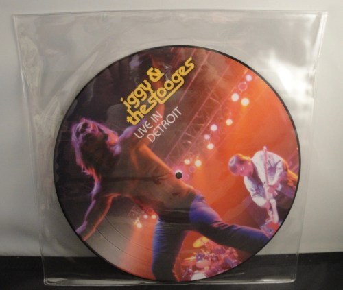 """Iggy & The Stooges - Live In Detroit 2003 - 11"""" Picture Disc Vinyl LP"""