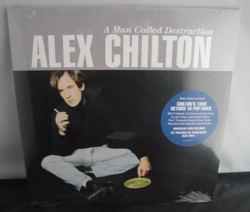 Alex Chilton - A Man Called Destruction - Limited Edition, 2XLP, Blue Vinyl LP