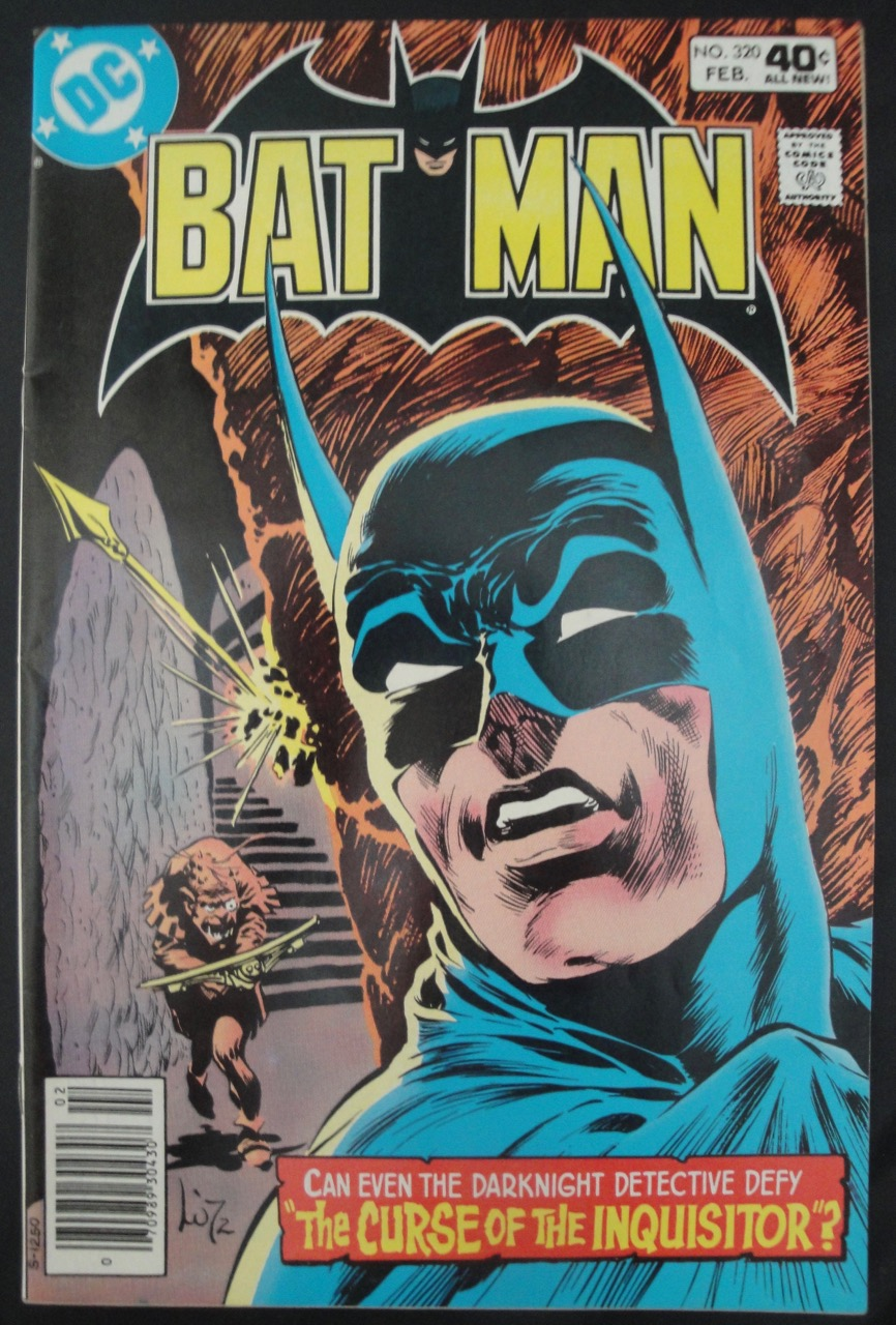 Batman #320, 1980, DC Comics, Bernie Wrightson Cover Art