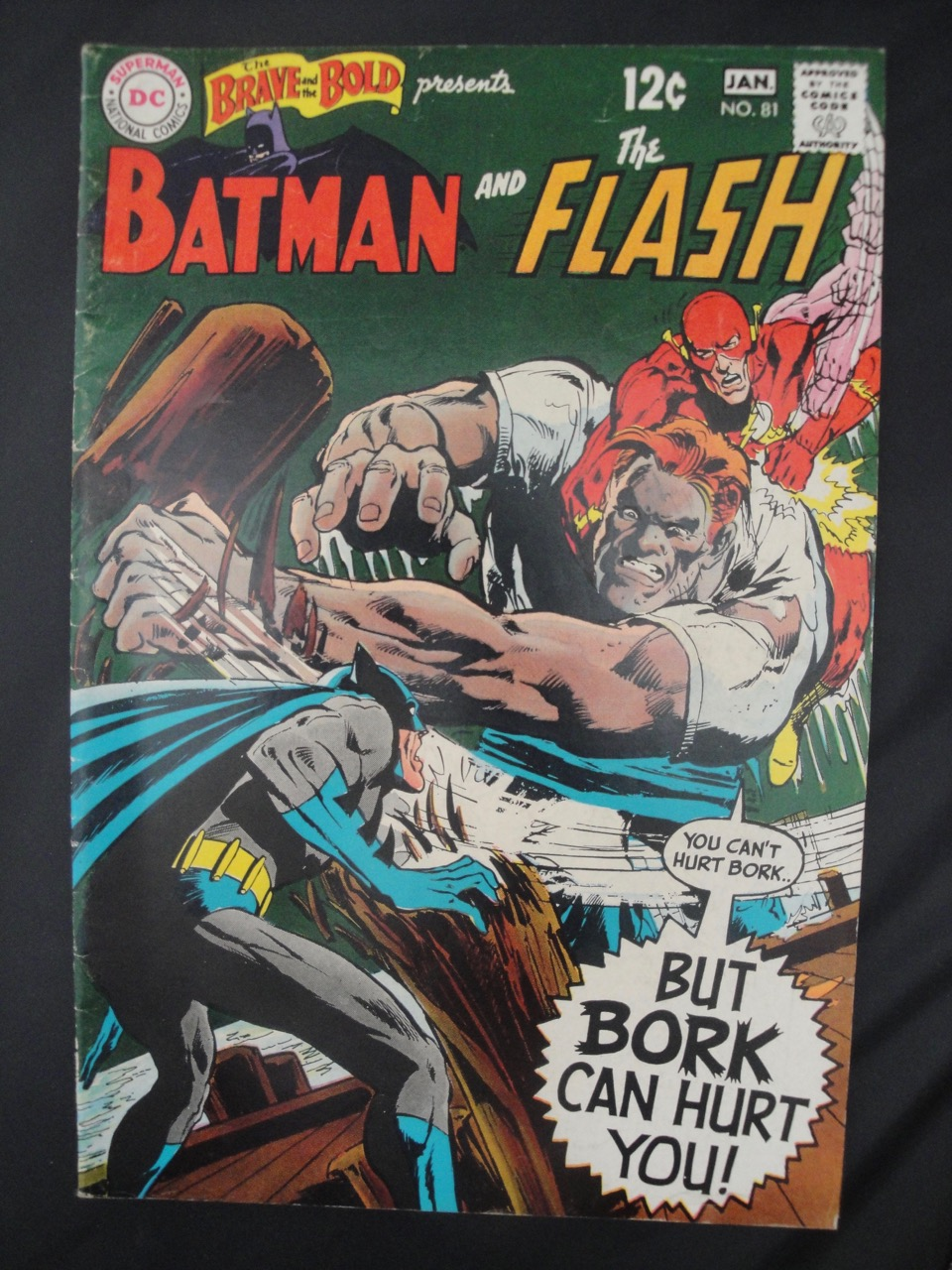 Brave and the Bold #81, Jan 1969, Batman, Flash, art by Neal Adams