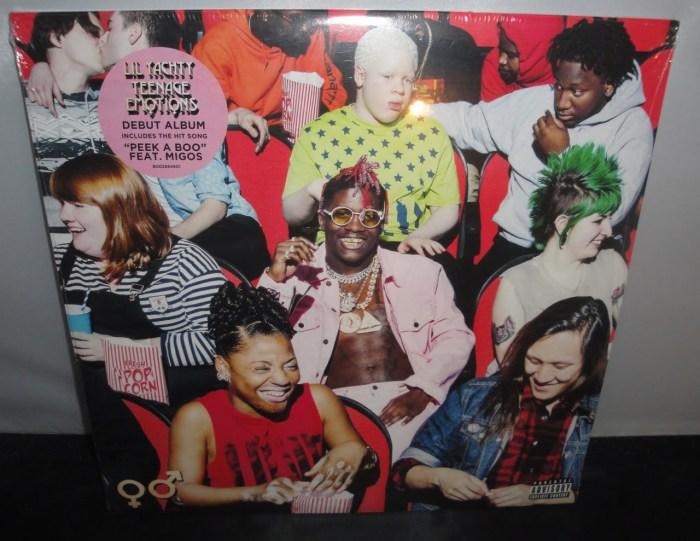 Lil Yachty - Teenage Emotions [Explicit] - 2017, Ltd Ed Colored Vinyl LP