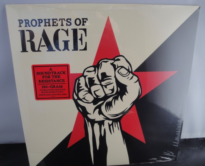 Prophets Of Rage - Prophets Of Rage [Explicit Content] Vinyl LP, 180 Gram, Colored Vinyl, 2017