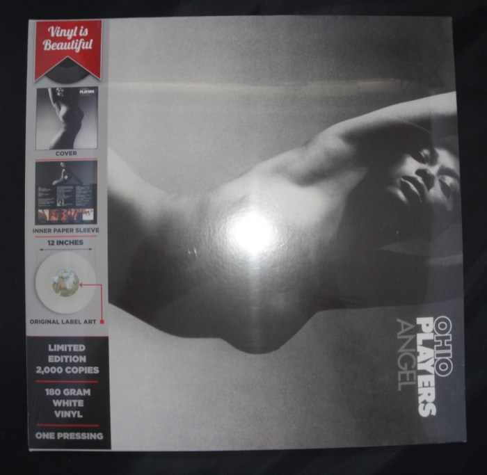 Ohio Players - Angel - Ltd Ed White 180 G Vinyl, Reissue, 2016