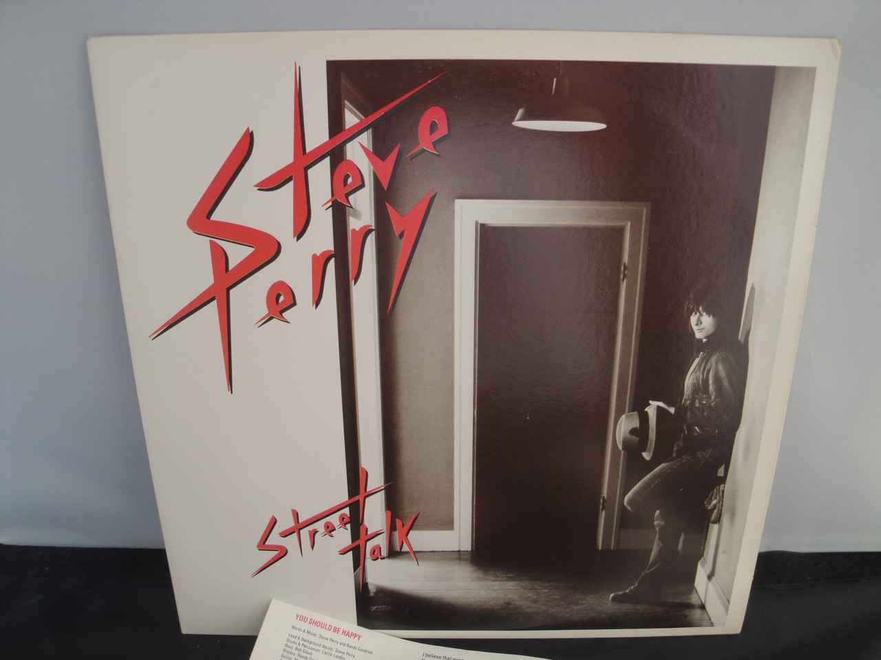 Steve Perry - Street Talk - 1984 Vinyl LP, Columbia Records FC 39334