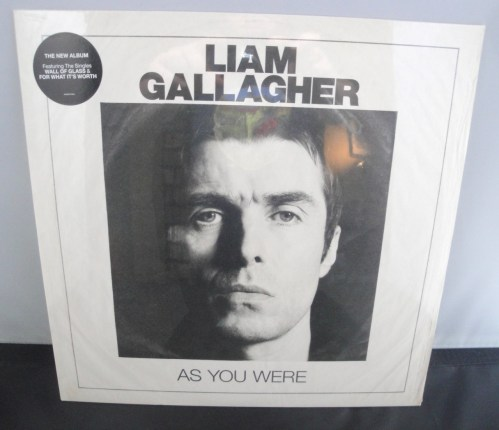 Liam Gallagher - As You Were - White, 180 Gram Vinyl, Indie Exclusive 2017