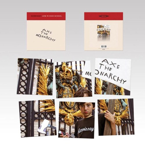 "Morrissey - Low In High School - Ltd Ed 7"" Single Boxed Set, 2017"