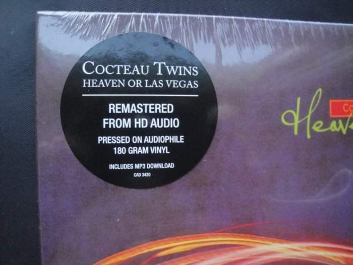 Cocteau Twins - Heaven or Las Vegas - Remastered, 180 Gram, Vinyl, 4AD, 2014