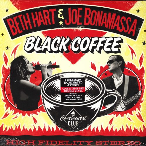 Beth Hart and Joe Bonamassa - Black Coffee - Limited Edition Double Red Vinyl, 2018