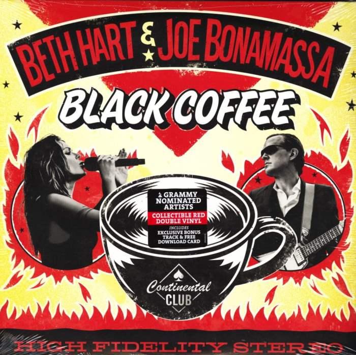 Beth Hart and Joe Bonamassa - Black Coffee - Limited Edition Double Red Vinyl, 2018
