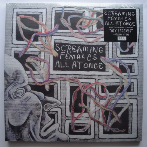 Screaming Females - All At Once - Ltd Ed Triple Vinyl LP, 3XLP, Don Giovanni, 2018