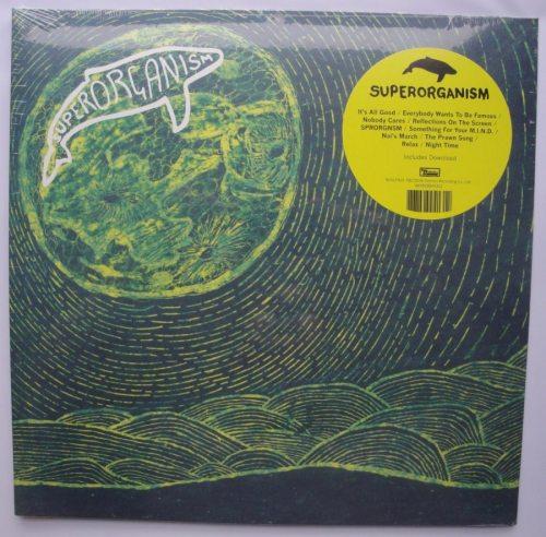 Superorganism - Superorganism - Vinyl LP, Domino Records, 2018