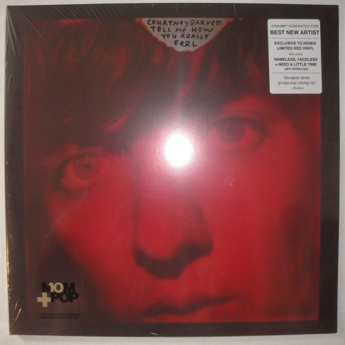 Courtney Barnett - Tell Me How You Really Feel - Ltd Ed, Red, Colored Vinyl, Mom+Pop, 2018