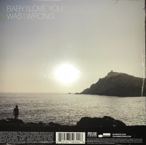 "Ryan Adams - Baby I Love You - Limited Edition 7"" Vinyl, Single, 2018"