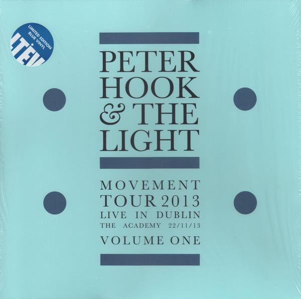 Peter Hook & The Light - Movement - Live In Dublin - Volume One, Ltd Ed, Blue, Colored Vinyl