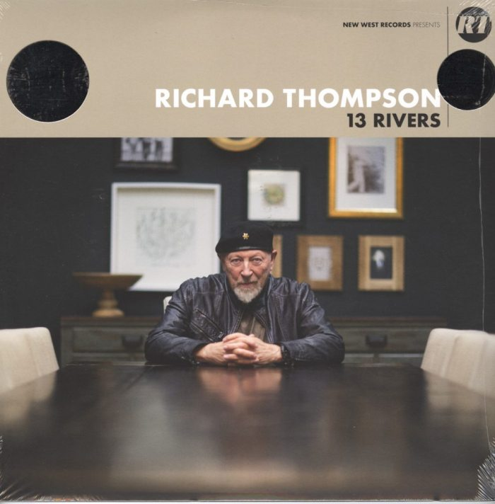 Richard Thompson – 13 Rivers, Ltd Ed, Cream, Black, Colored Vinyl, New West 2018