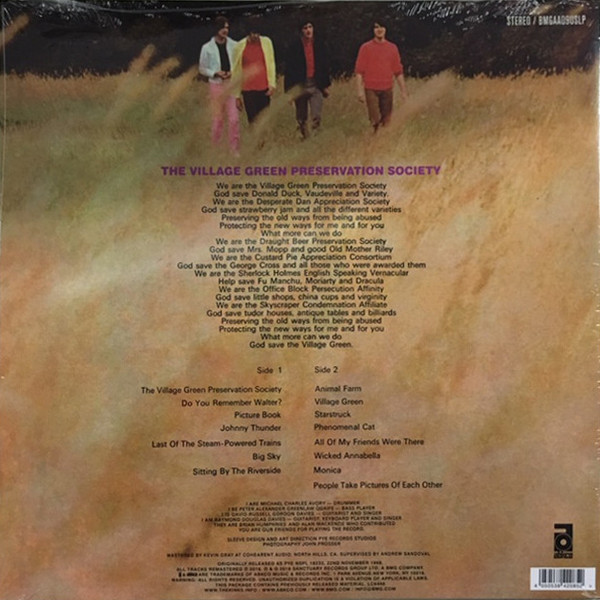 The Kinks - The Kinks Are The Village Green Preservation Society - Vinyl, LP, Sanctuary Records, 2018