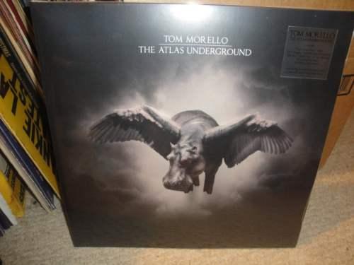 Tom Morello - Atlas Underground - Limited Edition, Gold/Black Vinyl, Mom + Pop, 2018