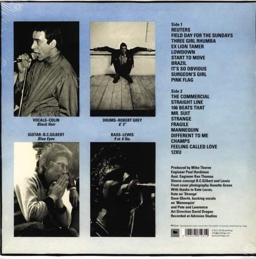 Wire - Pink Flag - Vinyl, LP, Punk, Post-Punk, Reissue, PinkFlag, 2018