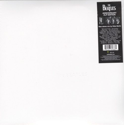 The Beatles (The White Album) - 180 Gram Double Vinyl LP, Remixed, Gatefold, 2018