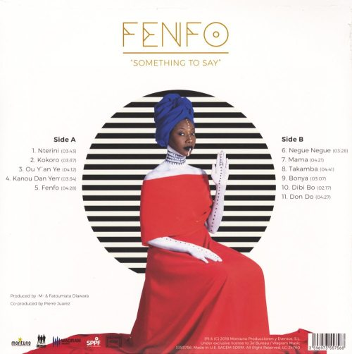 Fatoumata Diawara - Fenfo - Vinyl, LP, Import, Wagram, 2018