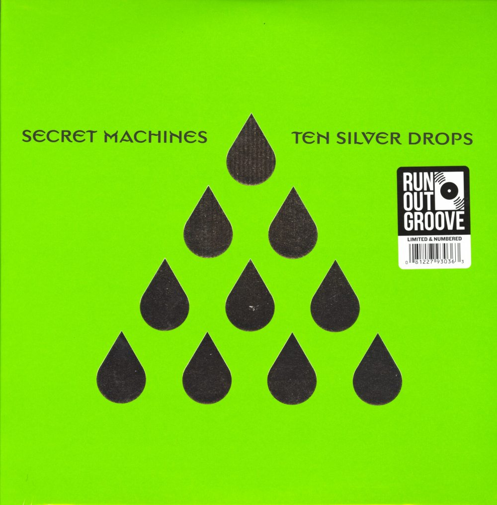 Secret Machines - Ten Silver Drops - Deluxe, Colored Double Vinyl, Run Out Groove, 2019
