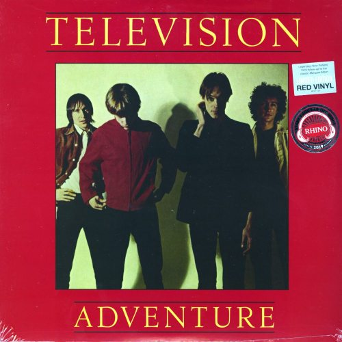 Television - Adventure - Limited Edition, Red, Colored Vinyl, Elektra Records, 2019
