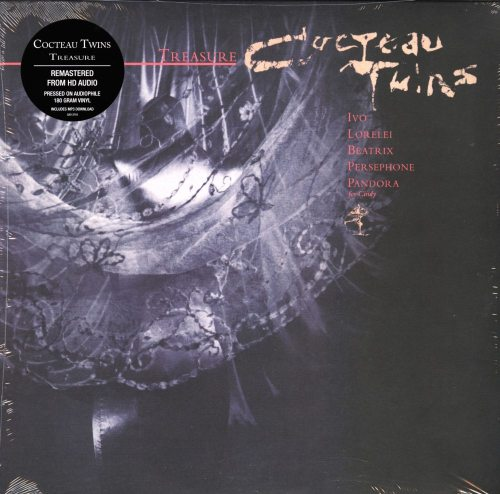 Cocteau Twins - Treasure - Remastered, 180 Gram, Vinyl, Reissue, 2018, 4AD