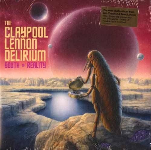 Claypool Lennon Delirium - South Of Reality - Pink, Purple Colored Double Vinyl, LP, Ato, 2019