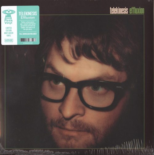 Telekinesis - Effluxion - Ltd Ed, Green, Colored Vinyl, Merge Records, 2019