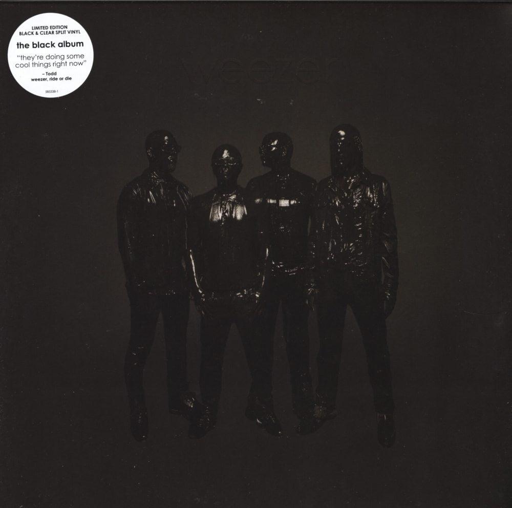 Weezer – Weezer (Black Album) – Black and Clear Split, Colored Vinyl, 2019