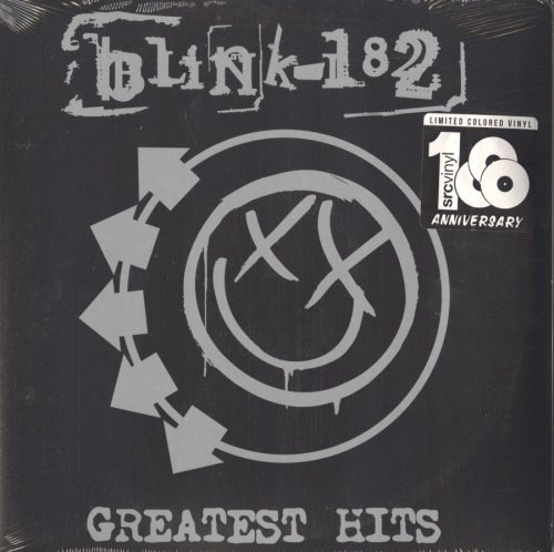 blink-182 - Greatest Hits - 2XLP, Double Vinyl, Colored Vinyl, NM- Jacket, SRC Vinyl, 2018