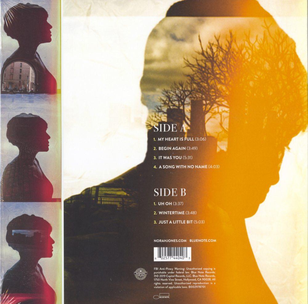 Norah Jones - Begin Again - Vinyl, LP, Blue Note Records, 2019