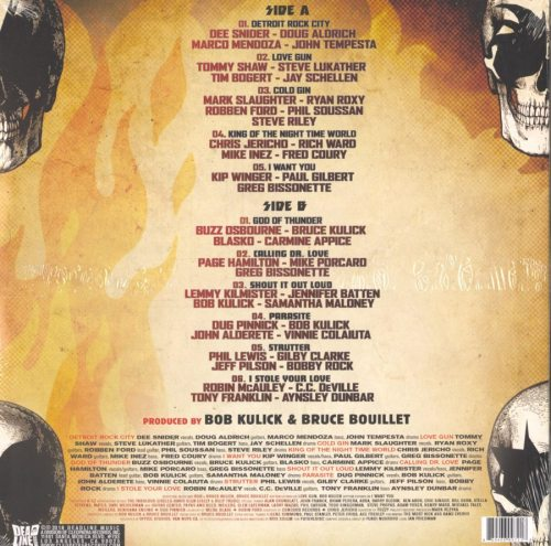 Various Artists - Pure Fire - The Ultimate Kiss Tribute - Ltd, Colored Vinyl, LP, Deadline Music, 2019