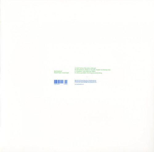 Spiritualized - Sweet Heart Sweet Light - 2XLP, Double Vinyl, Fat Possum Records, 2012