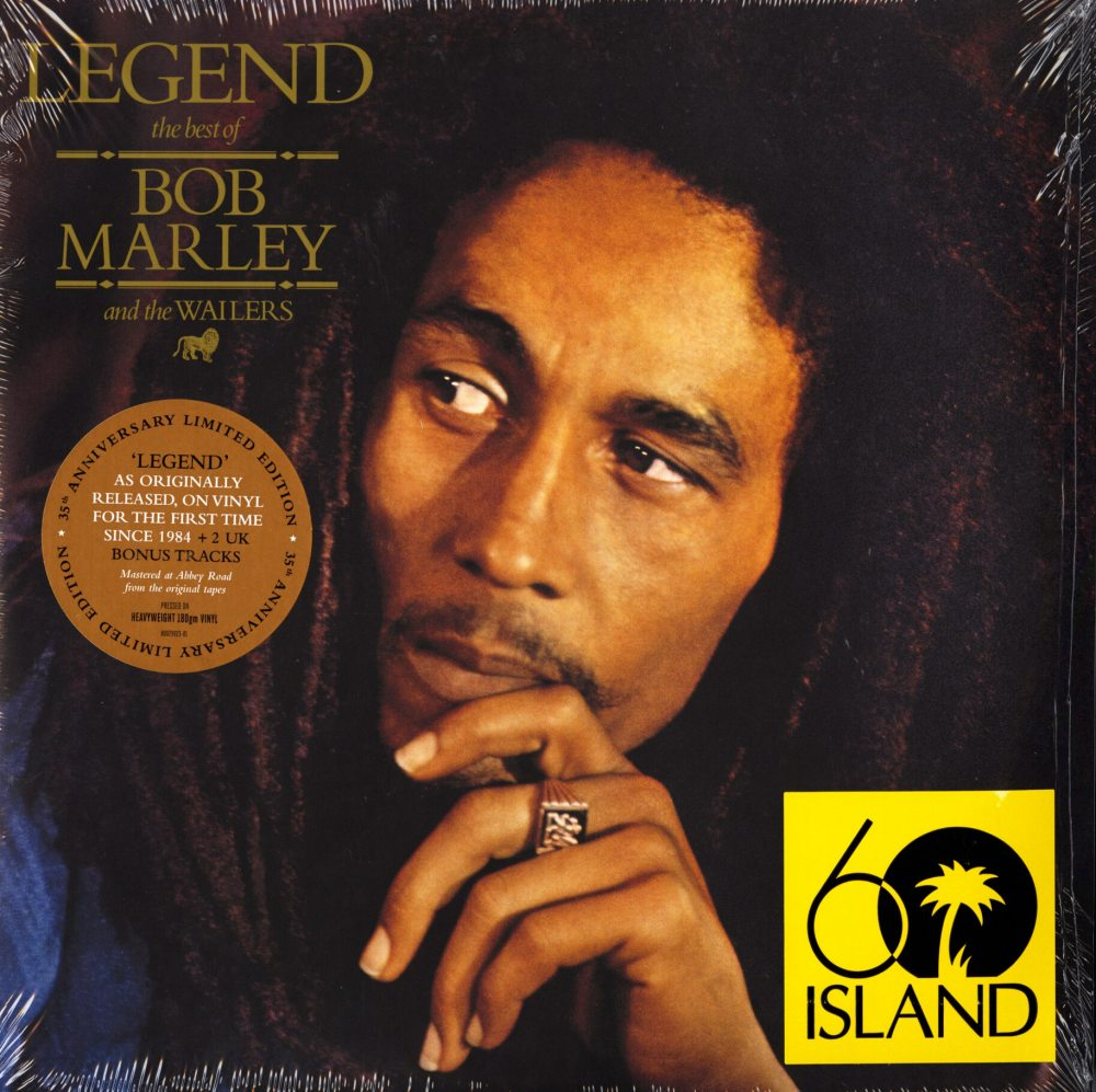 Bob Marley & The Wailers - Legend - The Best Of, Limited, 180 Gram, Double Vinyl, Island, 2019