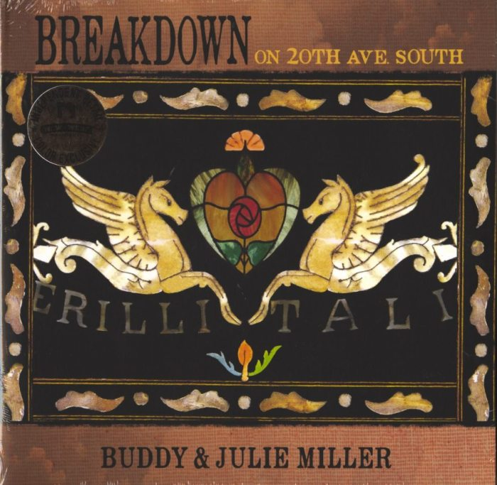 Buddy & Judy Miller - Breakdown On 20th Ave. South - Ltd Ed, Colored Vinyl, LP, New West Records, 2019