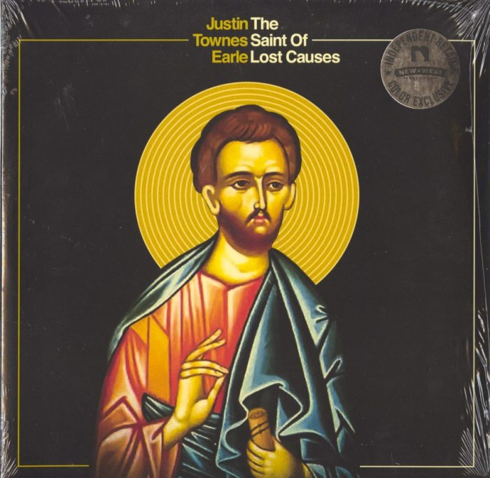 Justin Townes Earle - The Saint Of Lost Causes - Limited Edition, Metallic Gold/Yellow, Vinyl, LP, New West Records, 2019