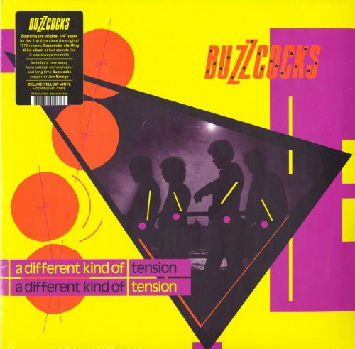 Buzzcocks - A Different Kind Of Tension - Limited Edition, Yellow, Colored Vinyl, LP, Domino, 2019