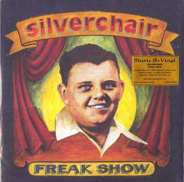 Silverchair - Freak Show - Limited Edition, Flaming Colored Vinyl, LP, M.O.V., 2019